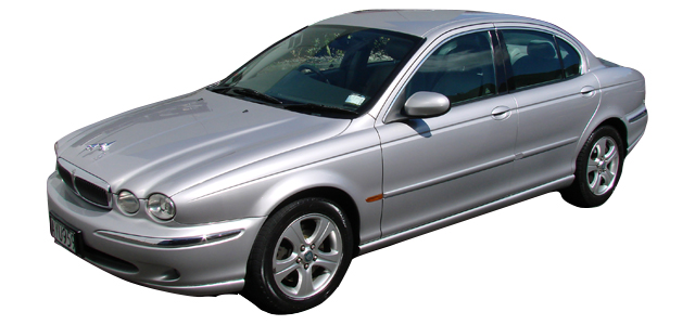 Jaguar X-Type 02 ( min 2 day hire )